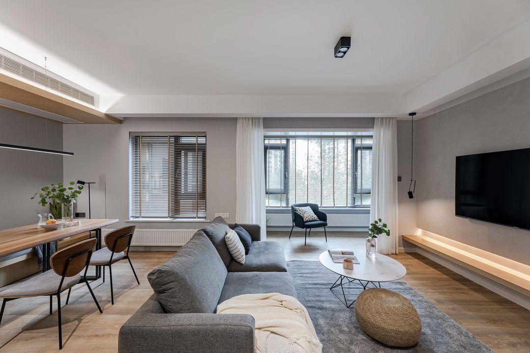 天津鹤立装修案例110m²温馨的小两居室,房间在于精不在多!